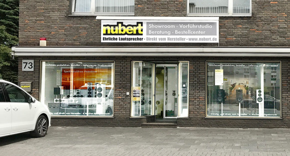 Nubert Showroom in Duisburg