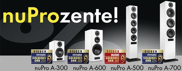 nuPro-Lautsprecher günstiger