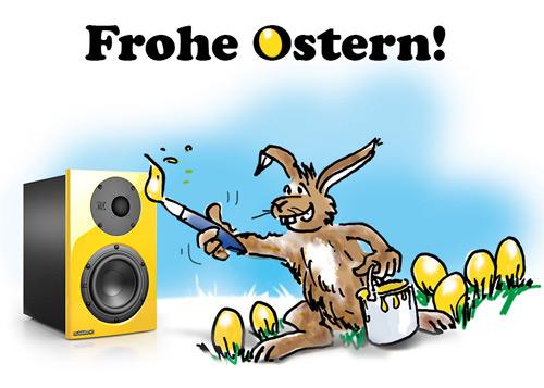 Schöne Ostern Trotz Winterwetter Nubert Lautsprecher Hifi Und